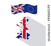 brexit of the eruropean union ...   Shutterstock .eps vector #496860199