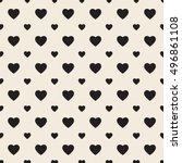 retro pattern of geometric... | Shutterstock .eps vector #496861108