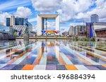 paris   august 20  2014  grand... | Shutterstock . vector #496884394