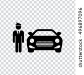 hotel parking icon   Shutterstock .eps vector #496897096