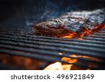 Flank Steak On The Grill With...