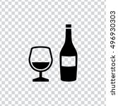 alcohol icon | Shutterstock .eps vector #496930303