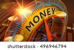 3d illustration  money  capital ... | Shutterstock . vector #496946794
