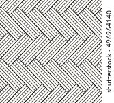 geometric seamless pattern.... | Shutterstock .eps vector #496964140