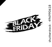 black friday sale vector... | Shutterstock .eps vector #496990618