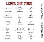 Electrical Circuit Symbols On...