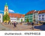 bratislava  slovakia  may 28 ... | Shutterstock . vector #496994818