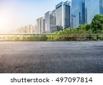 cityscape and skyline of... | Shutterstock . vector #497097814