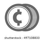 circle typography typeset... | Shutterstock .eps vector #497108833