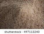 brown eko sugar heap  macro... | Shutterstock . vector #497113240