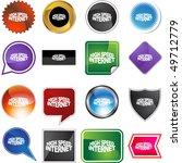 high speed internet | Shutterstock .eps vector #49712779