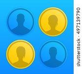 4 avatars icons for websites ...
