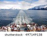 alaska view form the ship | Shutterstock . vector #497149138