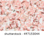 abstract paint imitating the... | Shutterstock . vector #497153044