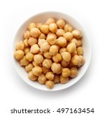 Bowl Of Preserved Chickpeas...