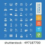 science innovation icon vector | Shutterstock .eps vector #497187700