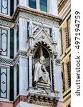 cathedral santa maria del fiore ... | Shutterstock . vector #497194759