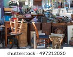 antiquities shop at jaffa flea ... | Shutterstock . vector #497212030
