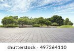 empty tiles at the nice and... | Shutterstock . vector #497264110