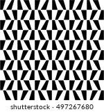 vector modern abstract geometry ... | Shutterstock .eps vector #497267680