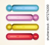 vector progress background  ...   Shutterstock .eps vector #497276200