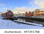 kabelvag  norway   february 15  ... | Shutterstock . vector #497291788