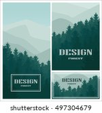 design icon element with... | Shutterstock .eps vector #497304679
