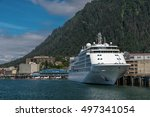 Cruise Ship White Color Is The...