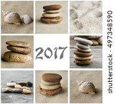 Meditation Collage Card 2017