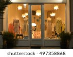 Boutique Display Window With...