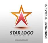 star logo vector. vector... | Shutterstock .eps vector #497365270