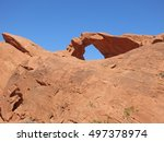 valley of fire state park ... | Shutterstock . vector #497378974