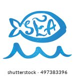 vector illustration of a symbol ... | Shutterstock .eps vector #497383396