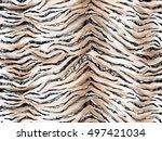 Seamless Tiger Skin Print...