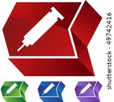 syringe | Shutterstock . vector #49742416
