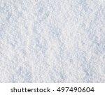texture of snow | Shutterstock . vector #497490604