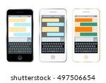 mobile messenger chat. smart...