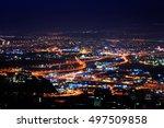 A Shoot Of Haifa City At Night...