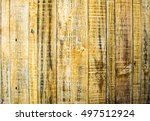 yellow wood background   Shutterstock . vector #497512924
