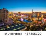 las vegas  usa   july 14  ... | Shutterstock . vector #497566120