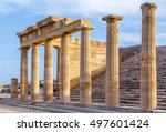 Ruins Of Ancient Temple In The...
