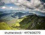 mountain landscape | Shutterstock . vector #497608270