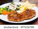 steak | Shutterstock . vector #497626780