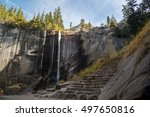 Autumn Of Vernal Fall  Yosemite