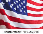 flag of the usa | Shutterstock . vector #497659648