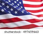 flag of the usa | Shutterstock . vector #497659663