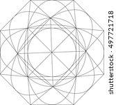 geometric pattern  | Shutterstock .eps vector #497721718