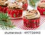 Homemade Christmas Cupcakes...