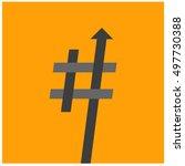 trending hashtag  art vector...   Shutterstock .eps vector #497730388