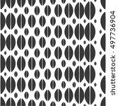 ellipse in monochrome pattern ...   Shutterstock .eps vector #497736904